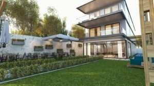 3 Boyutlu bina ve iç cephe modelleri