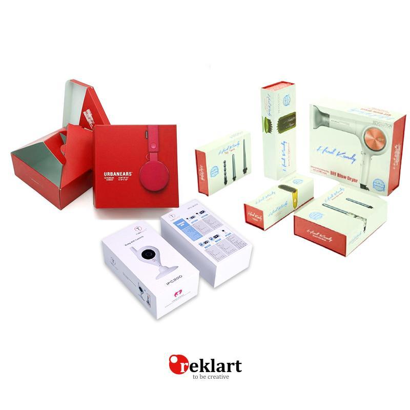 elektronik eşya kutusu tasarımı ve baskısı
